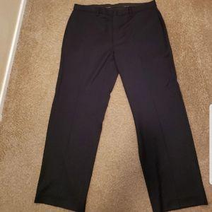 Clavin Klein Navy w/blue pin pants 38x32